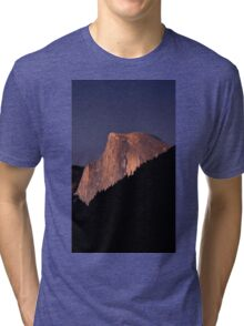 Half Dome At Sunset Tri-blend T-Shirt