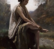 The Wounded Eurydice, c.1868-70 by Bridgeman Art Library