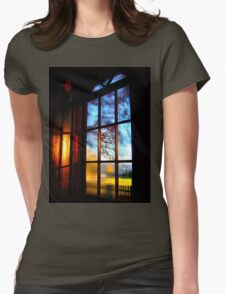 Window with a View Womens Fitted T-Shirt