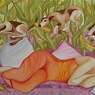 corn hunting season by Julia Keil