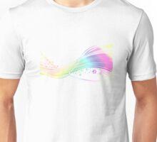 Rainbow pawprints Unisex T-Shirt