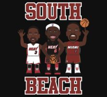 NBAToon of LeBron James, player of Miami Heat by D4RK0