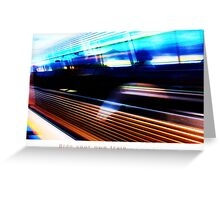 Ride Your Own Train Again Greeting Card