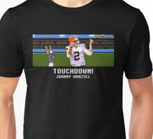 Tecmo Bowl Touchdown Johnny Manziel Unisex T-Shirt