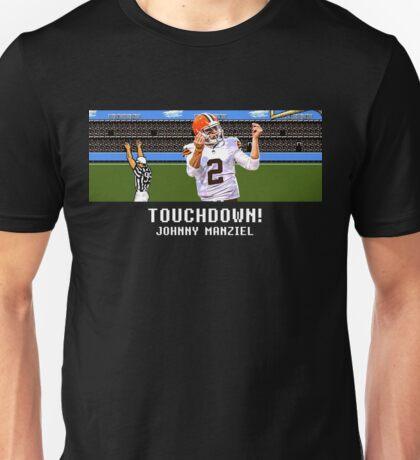 Tecmo Bowl Touchdown Johnny Manziel Unisex T-Shirt