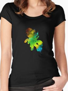 RBD inverted Fractals Women's Fitted Scoop T-Shirt