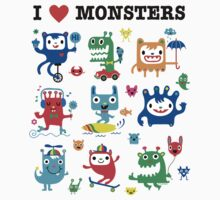 Monster Love Kids Tee