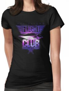 Flight Club (Galaxy) Womens Fitted T-Shirt