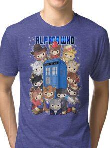 Alpaca Who Tri-blend T-Shirt