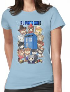 Alpaca Who Womens Fitted T-Shirt