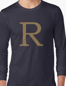 Weasley Sweater - R (All letters available!) Long Sleeve T-Shirt