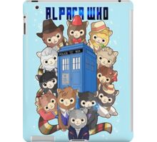 Alpaca Who iPad Case/Skin