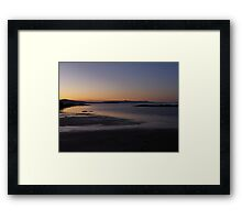The Beach ~ Isle Of Skye Framed Print