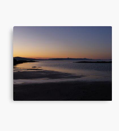 The Beach ~ Isle Of Skye Canvas Print