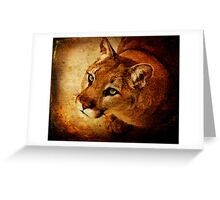 Panther Prayer Greeting Card