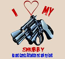I Love My Snubby Unisex T-Shirt