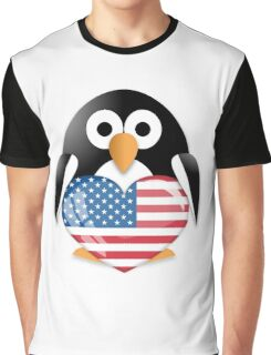 Funny penguin Graphic T-Shirt