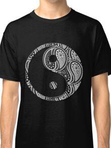 Paisley Yin Yang Yin Yang Classic T-Shirt