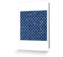 SCA3 BK-BL MARBLE Greeting Card