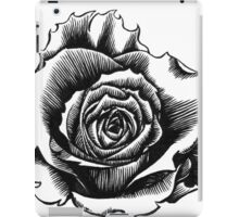 Rose Tattoo Too - Ink Drawing iPad Case/Skin