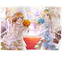 Love Live! School Idol Project - Blushing Brides Poster