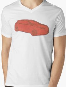 Focus ST Mk3 Drawing - Race Red T-Shirt