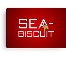 Sea-Biscuit Canvas Print