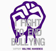 I Fight To End Bullying Indigo Unisex T-Shirt
