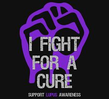 I Fight For A Cure - Lupus Purple Unisex T-Shirt