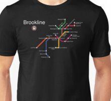 Brookline (white) Unisex T-Shirt