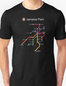 Jamaica Plain (white) T-Shirt