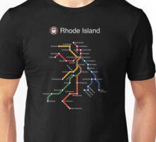 Rhode Island (white) Unisex T-Shirt