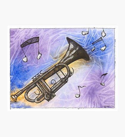Trumpet Notes Photographic Print