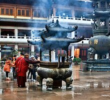 Jing´an Temple, Shanghai by Heike Richter