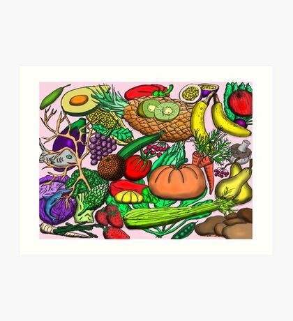 Food Glorious Food Art Print