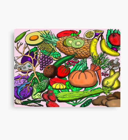 Food Glorious Food Canvas Print