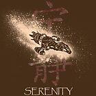 Firefly Serenity Silhouette by JSKerberDesigns
