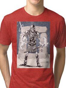 Dekkion, Dungeons & Dragons cartoon Tri-blend T-Shirt