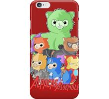 Alpacas Assemble iPhone Case/Skin