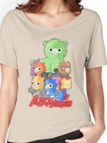 Alpacas Assemble Women's Relaxed Fit T-Shirt