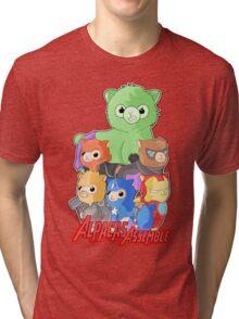 Alpacas Assemble Tri-blend T-Shirt