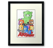 Alpacas Assemble Framed Print