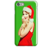 Taylor swift christmas iPhone Case/Skin