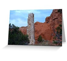Kodachrome State Park,Utah Greeting Card