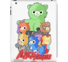 Alpacas Assemble iPad Case/Skin