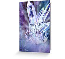 Crystal Mountain Greeting Card