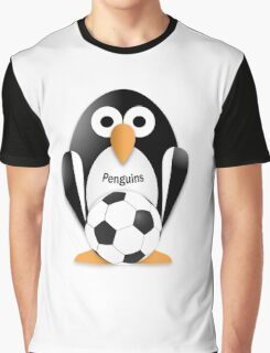 Penguin with soccer ball Graphic T-Shirt