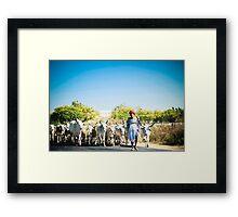The Shepherd 2 Framed Print