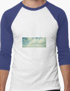 Clouds Men's Baseball ¾ T-Shirt