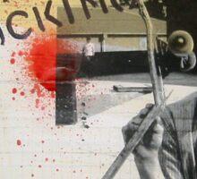 blood sucking Sticker